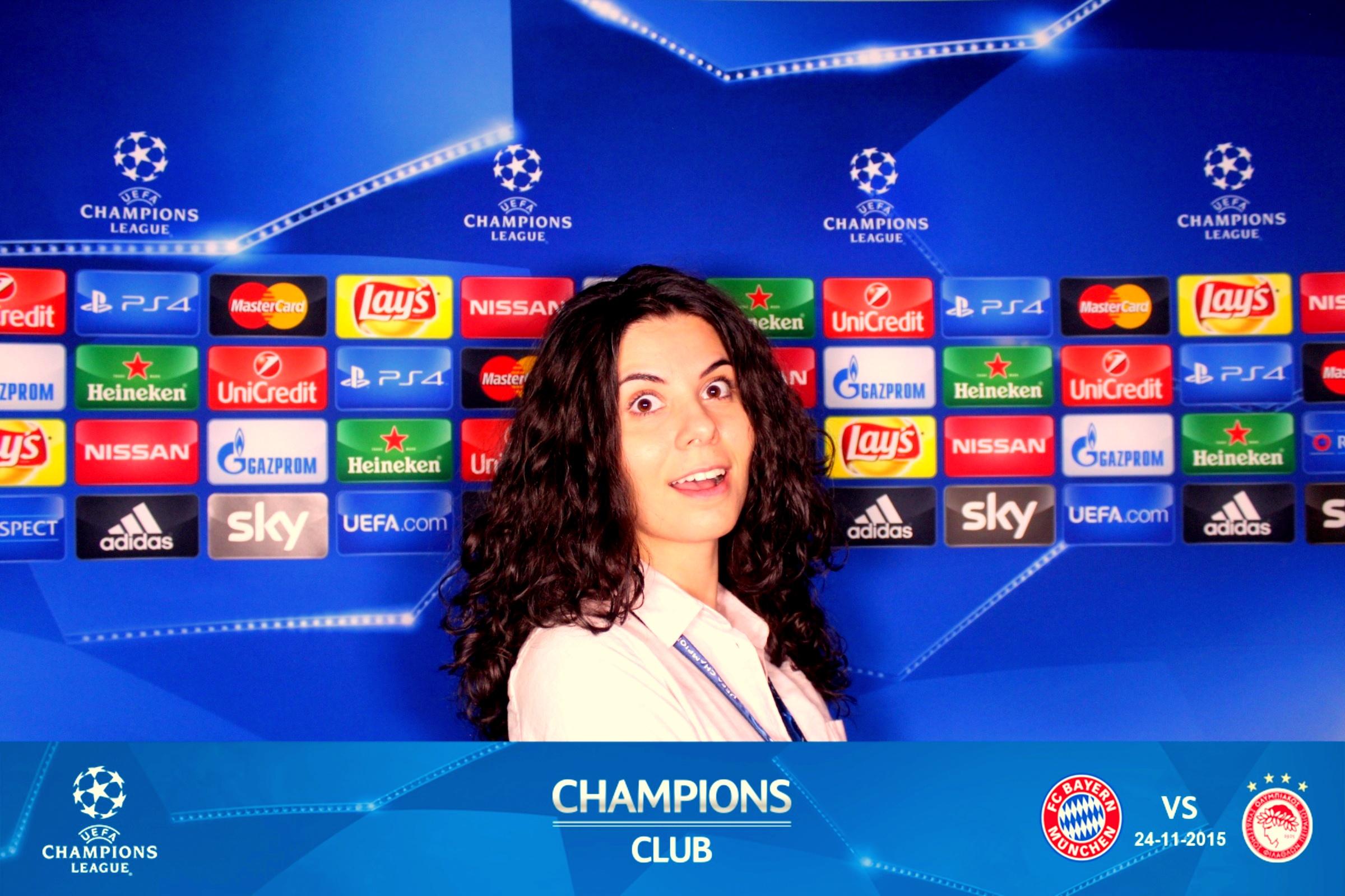 iulia ionescu la champions club