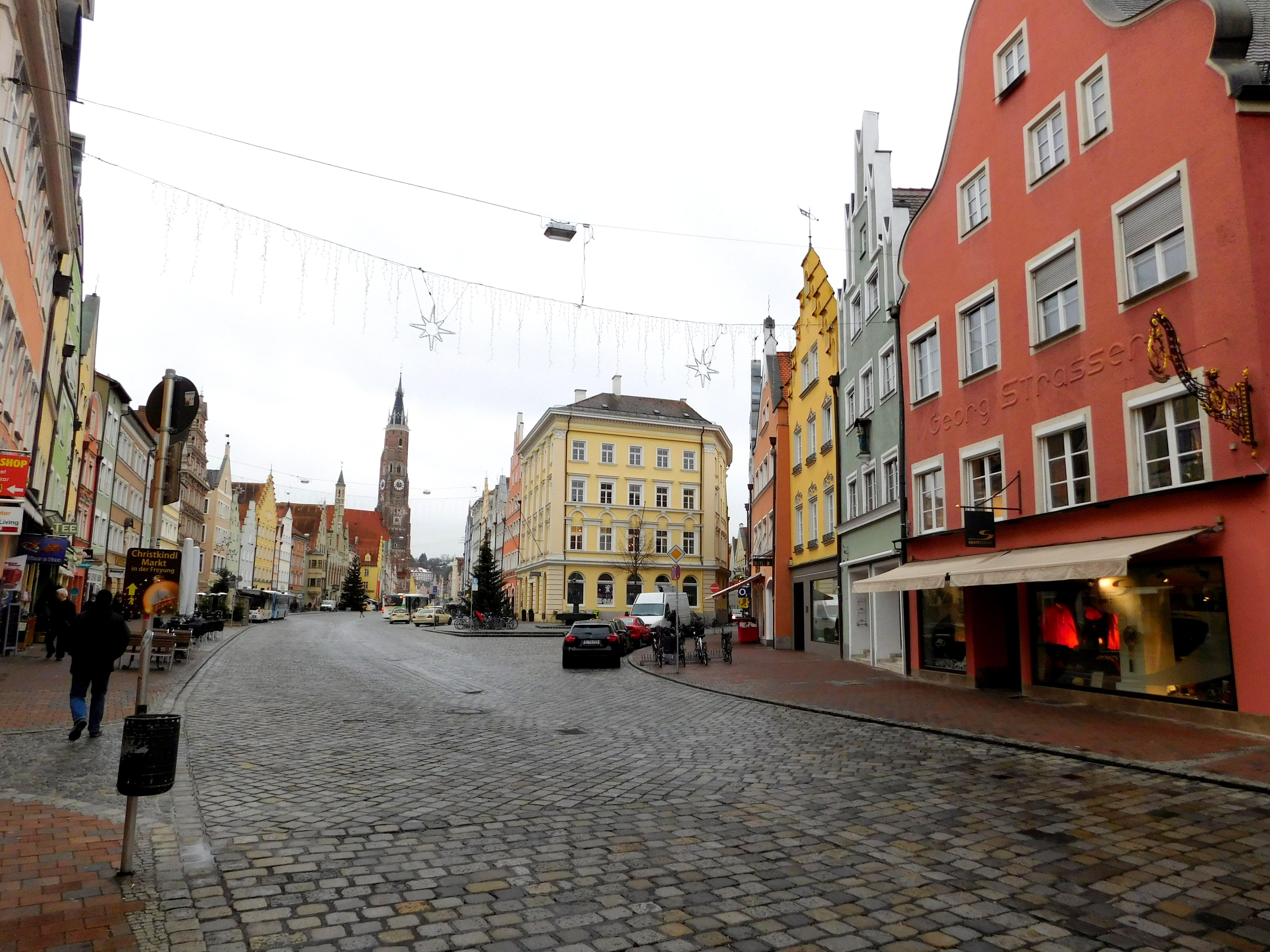 Landshut city center
