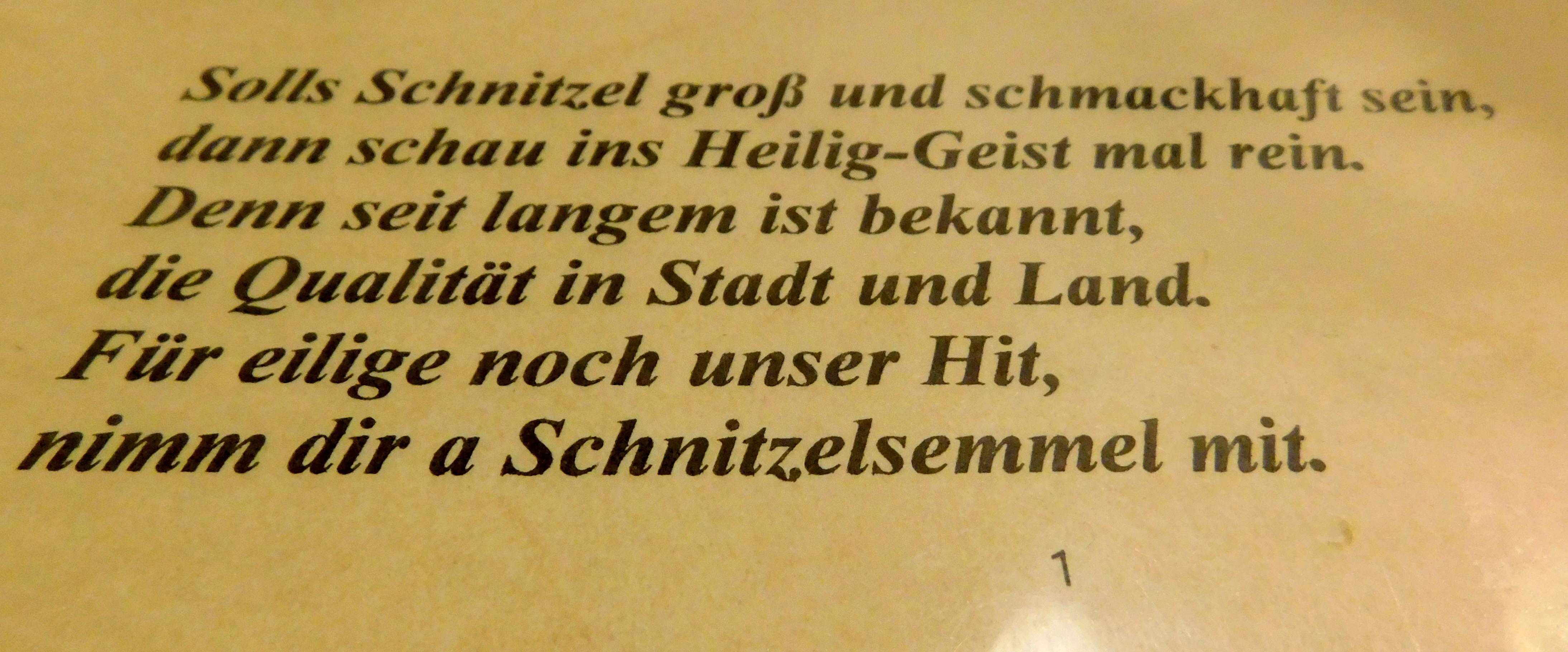 morala șnitzel în bavaria