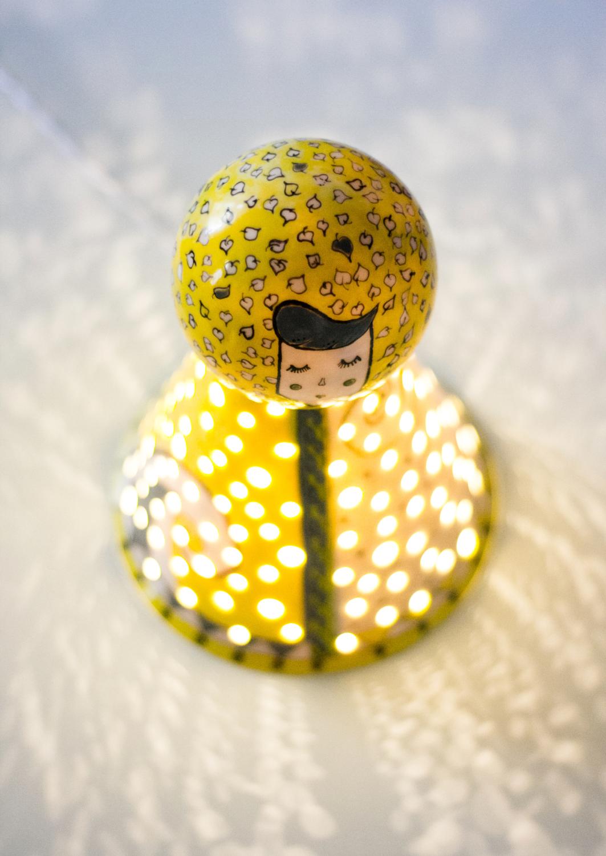 cerdak. - lampa ceramica