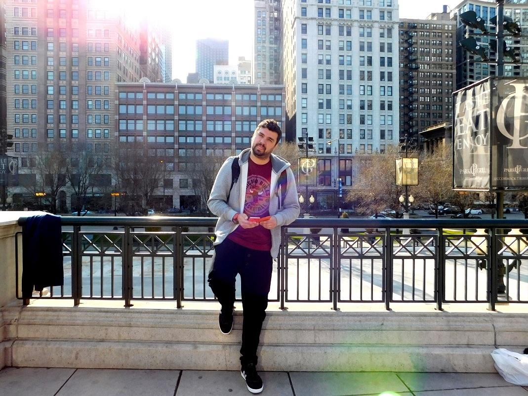 Ovidiu Ionescu în Chicago