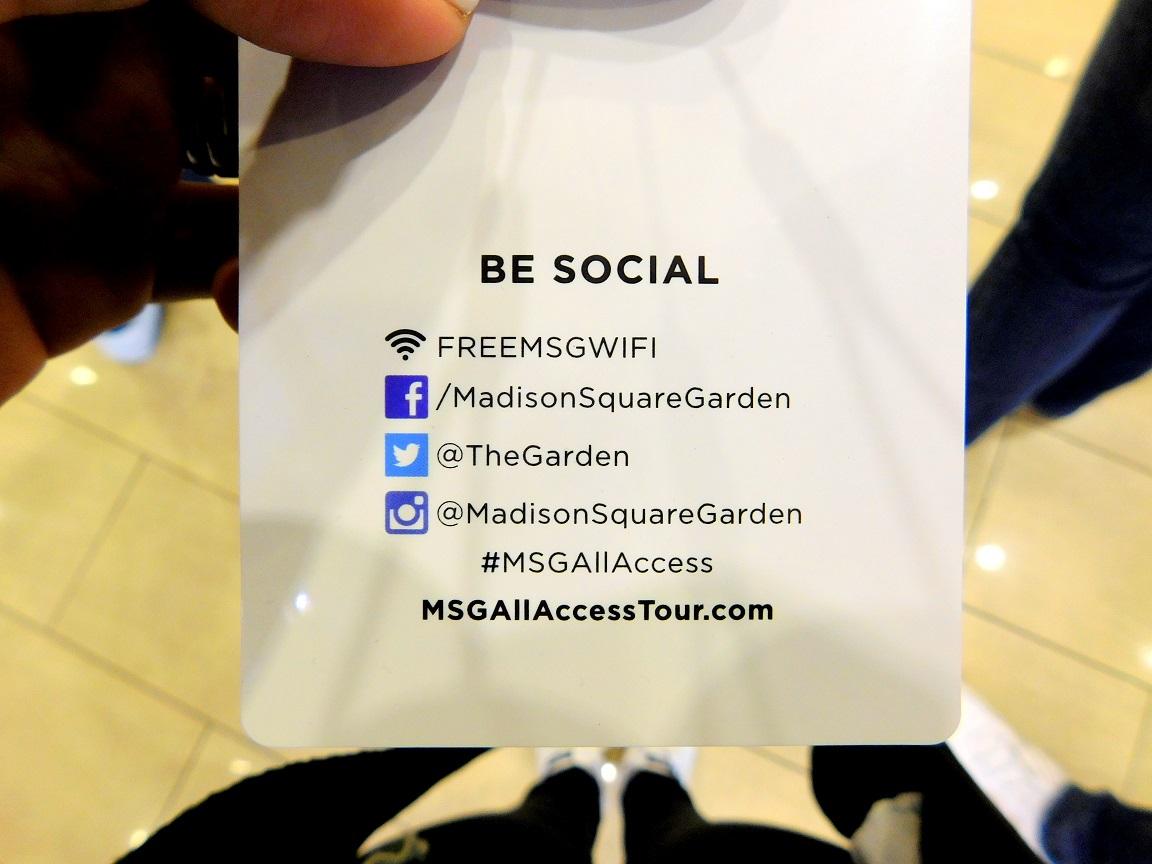 Be social - MSG