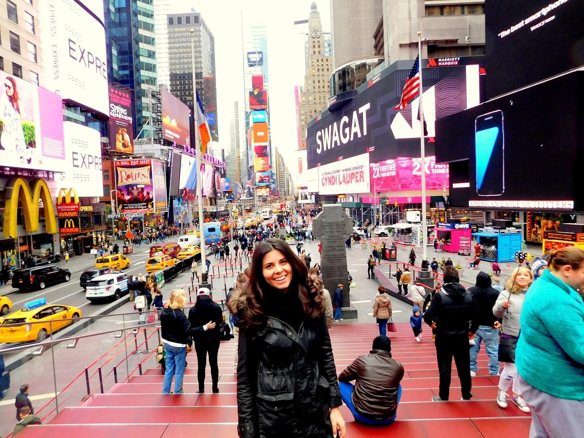 Iulia Ionescu în New York