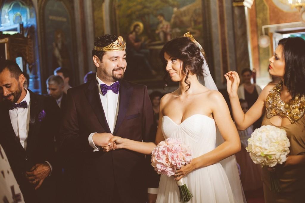 Iulia și Ovidiu Ionescu nuntă