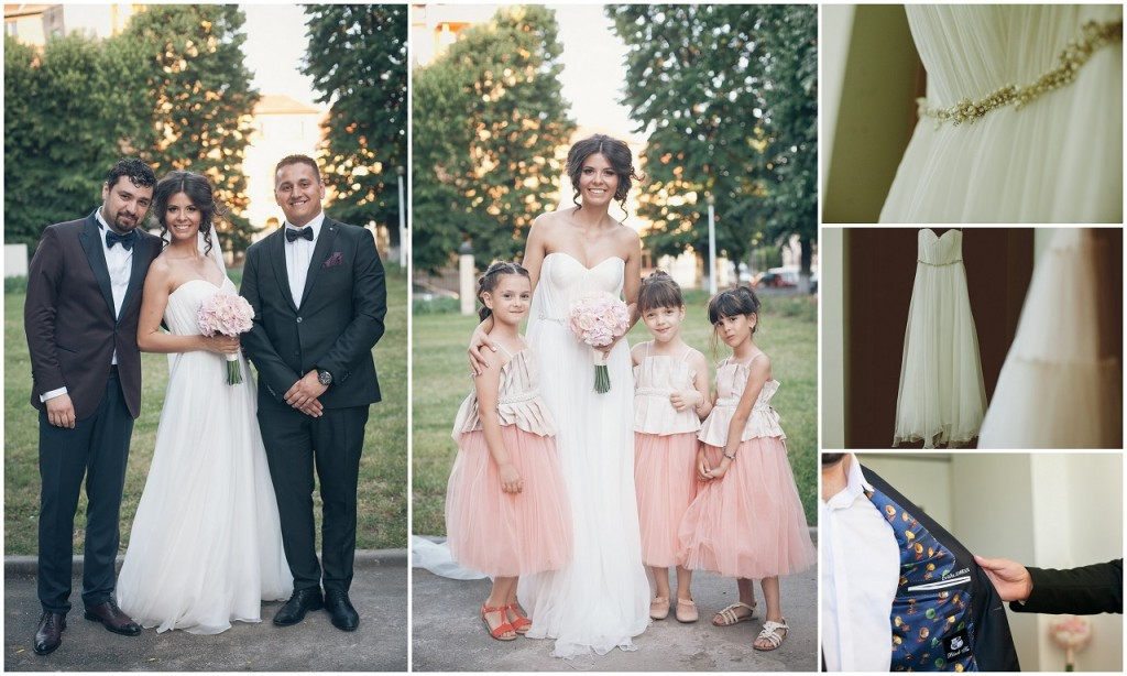 Tinute nunta - Black Tie si M.Marquise