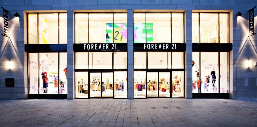 Forever 21 in Romania