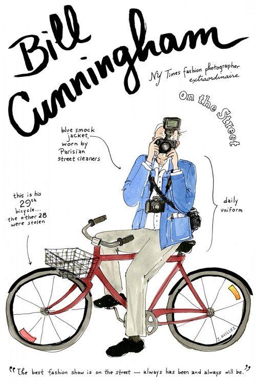 bill cunningham rutine