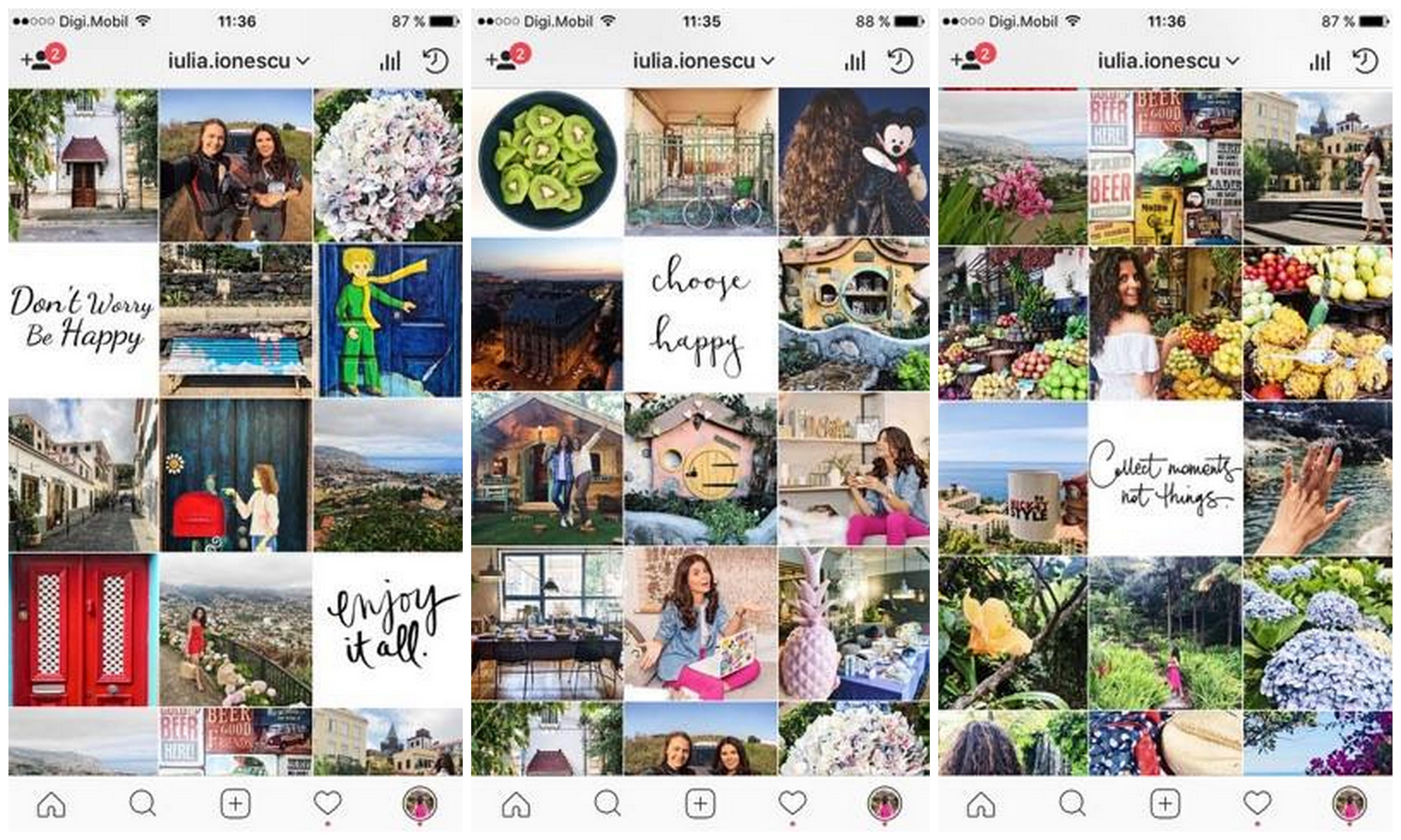 sfaturi pentru contul de Instagram