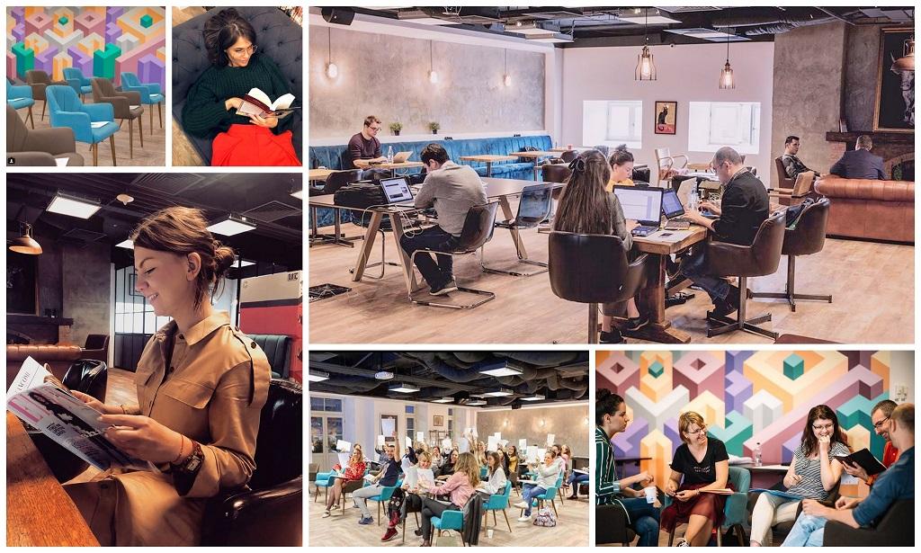 spații creative în București